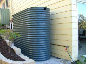 large rainwater tank